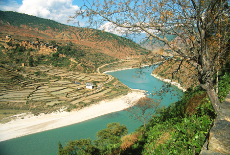 Bhutan_RIVER