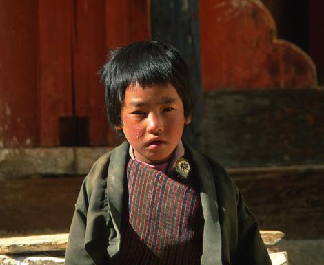 Bhutan_cild