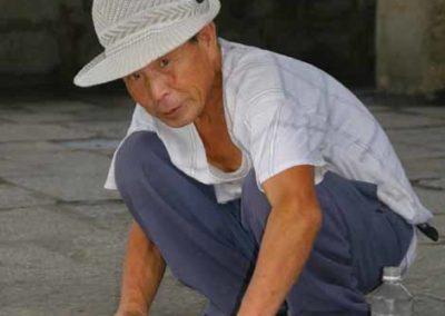 North Korean Painter