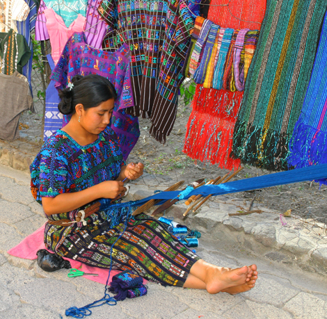 guatemala-301 Woman weaving
