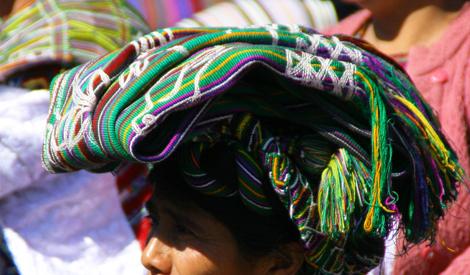 guatemala-304 Colorful headwear