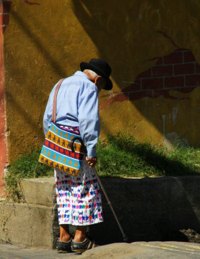 guatemala-324 Elder in Chichicastenango