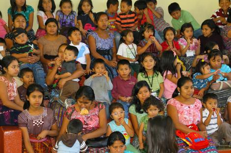 guatemala-335 Kids at school assembly