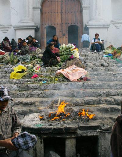 guatemala-351 Syncretism Mayan ceremony