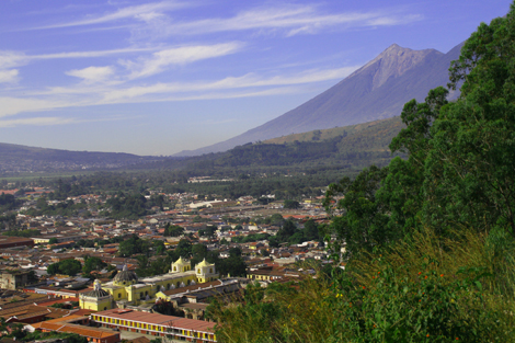 guatemala-387 Antigua hills