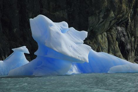 Brazil 208 Calafate floating ice 3
