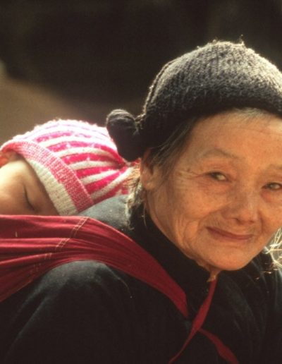 China GRANDMOTHER AND CHILD