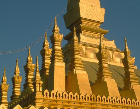 Laos_golden_temple