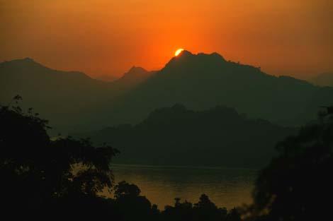 Laos_sunset