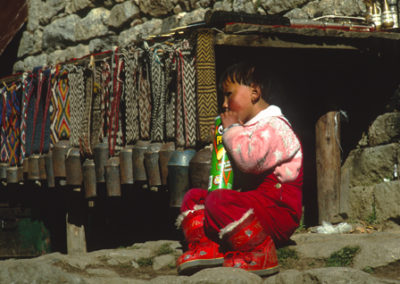 Nepal_girl_with_yak_bels