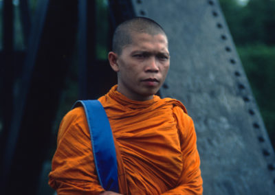 Thailand_monk_on_Bridge_on_River_Kwai - Copy
