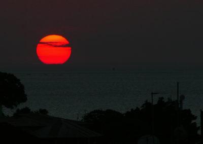Sunset over Zanzibar